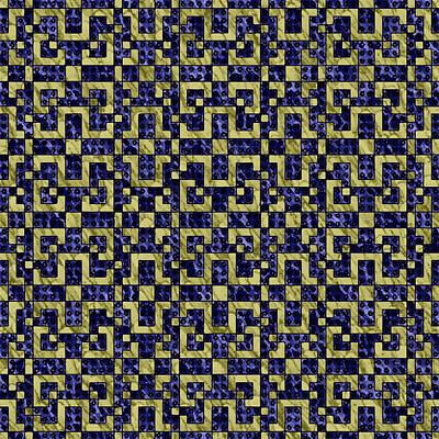 Maze Of Luxury Art Print by Aleksei Titov