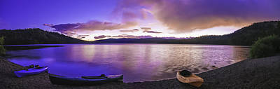 Art Print featuring the photograph Gold Lake Pano by Sherri Meyer
