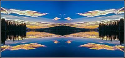 Photograph - Gold Lake Sunrise 2 by Sherri Meyer