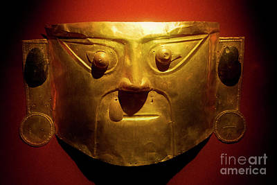 Photograph - Gold Mask by Scott Kemper