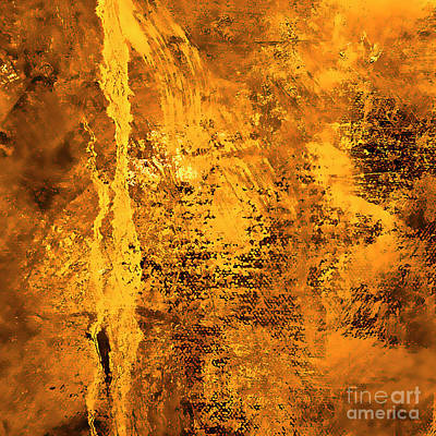 Painting - Gold by Michael Rock