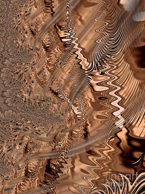 Digital Art - Gold Mine by Dee Flouton