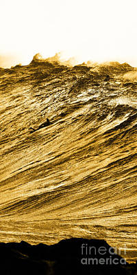 Monster Photograph - Gold Nugget -  Part 2 Of 3 by Sean Davey