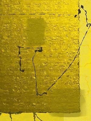 Gold Parchment Art Print