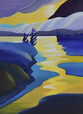 Painting - Gold Rush by Barbel Smith