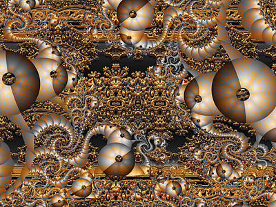 Digital Art - Gold Rush by Robert Orinski