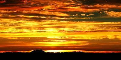 Photograph - Gold Skies by Lori Seaman