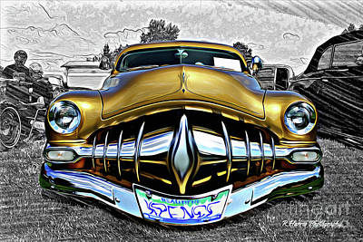 All You Need Is Love - Gold Street Rod Cartoon by Randy Harris
