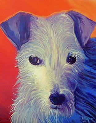 Painting - Goldberg Dog 2 by Hunter Jay