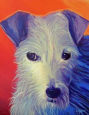 Painting - Goldberg Dog 2 by Hunter Jay