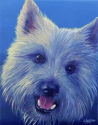 Painting - Goldberg Dog 3 by Hunter Jay