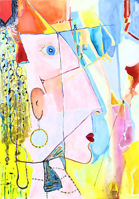 Painting - Golddigger by Rojo Chispas