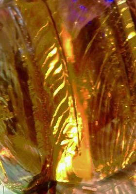 Photograph - Golden Abstract by Stephanie Moore