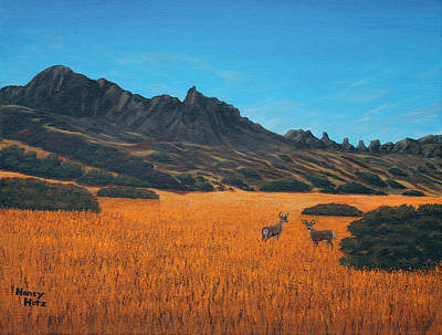 Painting - Golden Afternoon by Nancy Hotz