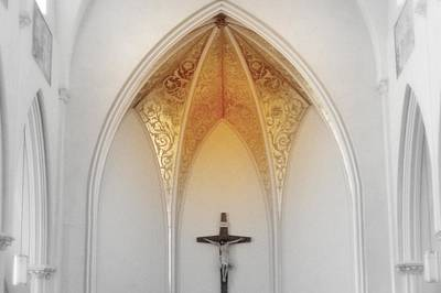 Photograph - Golden Altar.. by Al  Swasey