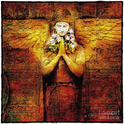 Photograph - Golden Angel by Craig J Satterlee