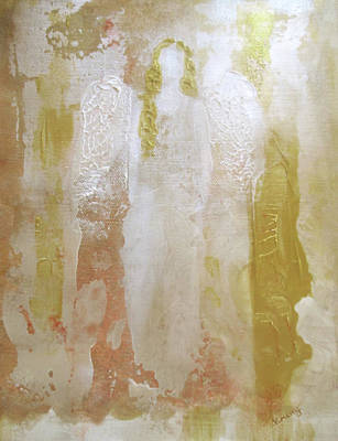 Painting - Golden Angel by Valerie Anne Kelly