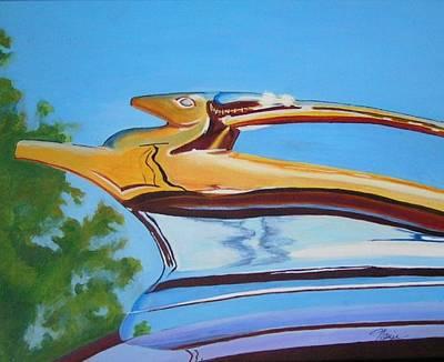 Golden Antelope Art Print