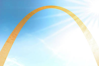 Photograph - Golden Arch by Spencer McDonald