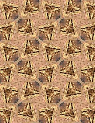 Golden Arrowheads Art Print