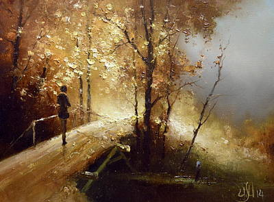 Painting - Golden Autumn by Igor Medvedev