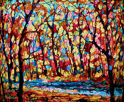 Painting - Golden Autumn by Natalie Holland