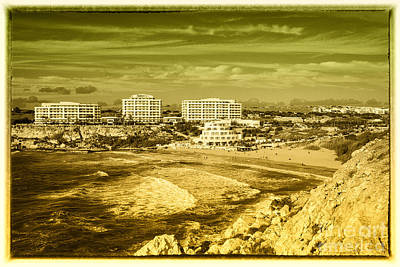 Maltese Photograph - Golden Bay Of Malta  by Rob Hawkins