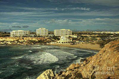 Maltese Photograph - Golden Bay  by Rob Hawkins