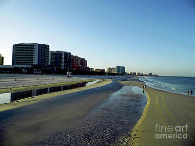 Photograph - Golden Beach Sand At Clearwater Beach by D Hackett