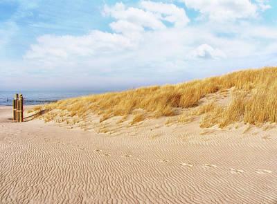 Photograph - Golden Beach Walk by Kathi Mirto