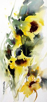 Golden Bow Art Print