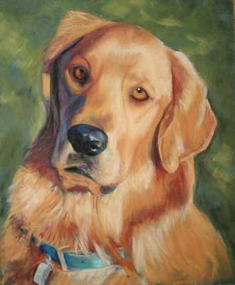 Painting - Golden Boy by Billie Colson