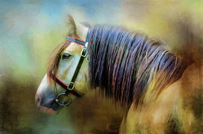Digital Art - Golden Boy by Kimberly Stevens