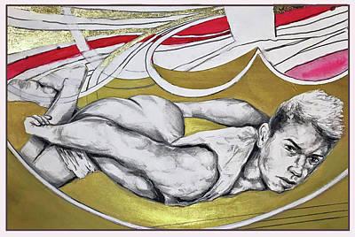 Golden Boy Version 1 Original by Rene Capone