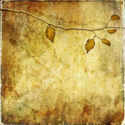 Digital Art - Golden Branch Of Hope  by Christina VanGinkel