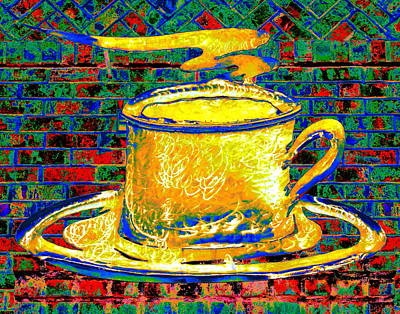 Photograph - Golden Brew by Larry Beat