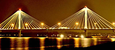 Photograph - Golden Bridge by Marty Koch