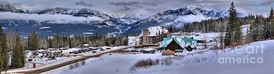 Photograph - Golden British Columbia Kicking Horse Resort by Adam Jewell