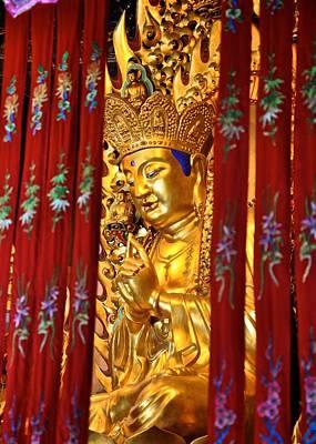 Photograph - Golden Buddha  by Matt MacMillan