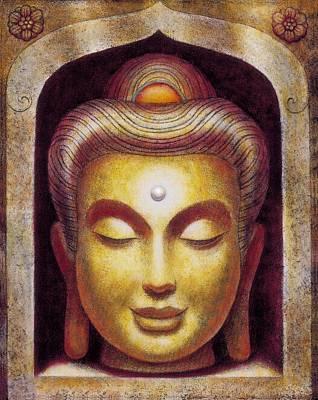 Painting - Golden Buddha by Sue Halstenberg