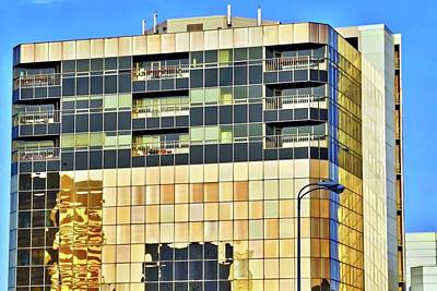 Photograph - Golden Building In Anchorage by Kirsten Giving