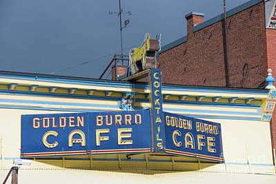 Photograph - Golden Burro Cafe by David Bearden