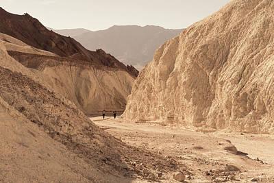 Photograph - Golden Canyon by Scott Rackers
