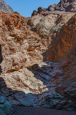 Photograph - Golden Canyon Side Trail Death Valley Ca by Michael Bessler