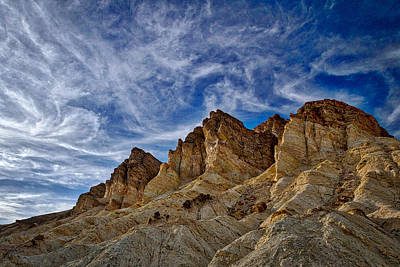 Photograph - Golden Canyon View - Death Valley by Stuart Litoff