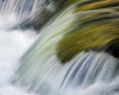 Photograph - Golden Cascade by Michael Blanchette