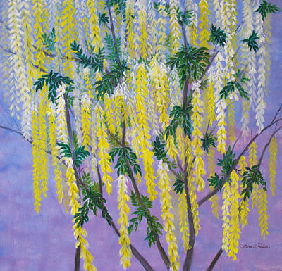 Painting - Golden Chain Tree by Patricia Beebe