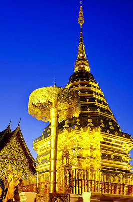 Photograph - Wat Phra That Doi Suthep by Fabrizio Troiani
