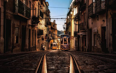 Photograph - Golden City by Jorge Maia