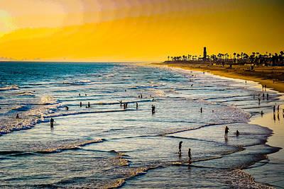 Photograph - Golden Coast by Michael Damiani